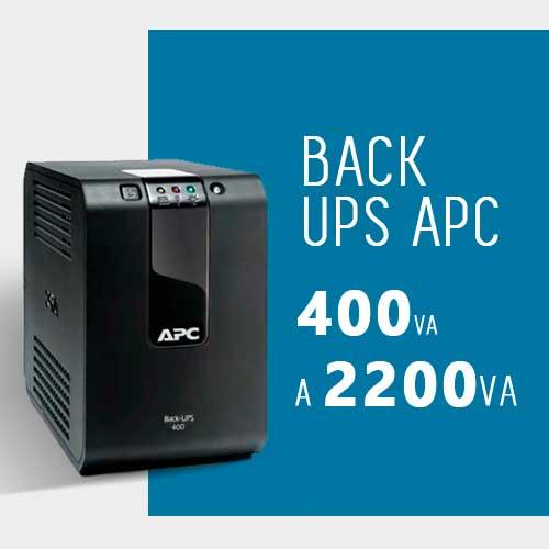 Nobreak APC 400VA a 2200VA