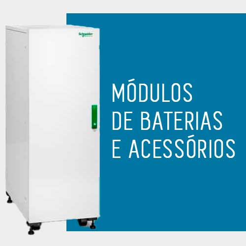 Módulos de baterias e acessórios